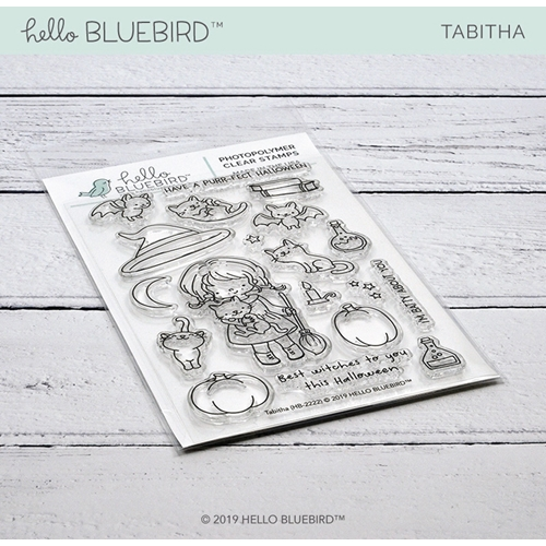 Hello Bluebird TABITHA Clear Stamps hb2222 Preview Image