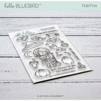 Hello Bluebird TABITHA Clear Stamps hb2222