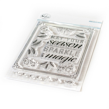 Pinkfresh Studio SPARKLE WITH MAGIC Clear Stamp Set pfcs2919
