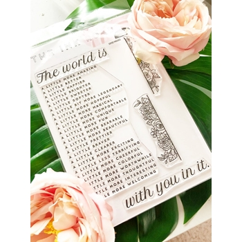 The Ink Road DAYSE PHRASES Clear Stamp Set inkr098
