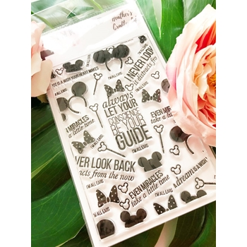 The Ink Road EARRESISTIBLE BACKGROUND Clear Stamp Set inkr101
