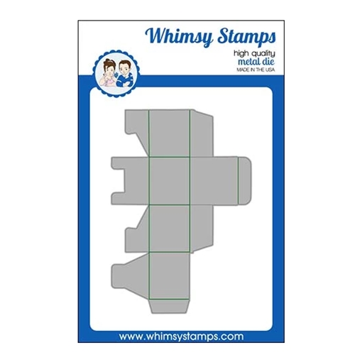 Whimsy Stamps MINI TREAT BOX Die WSD431 Preview Image