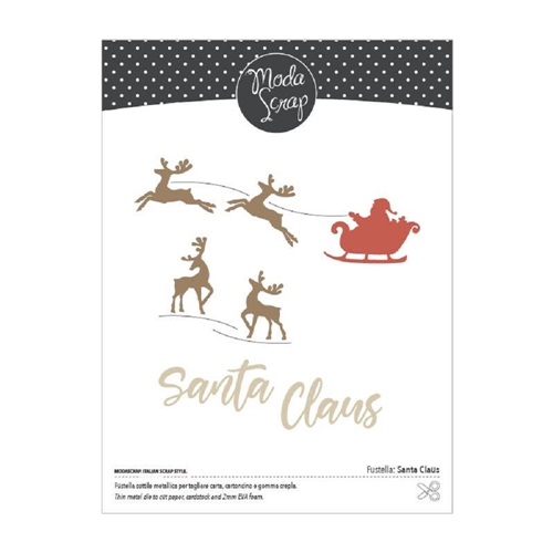 ModaScrap SANTA CLAUS Craft Die msf1111 Preview Image