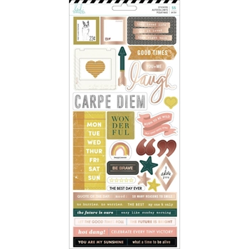 Heidi Swapp HONEY AND SPICE Cardstock Stickers 315211