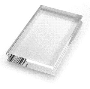 Stampendous Clear Block SMALL RECTANGLE 3 x 2.25 Acrylic ssh38 zoom image