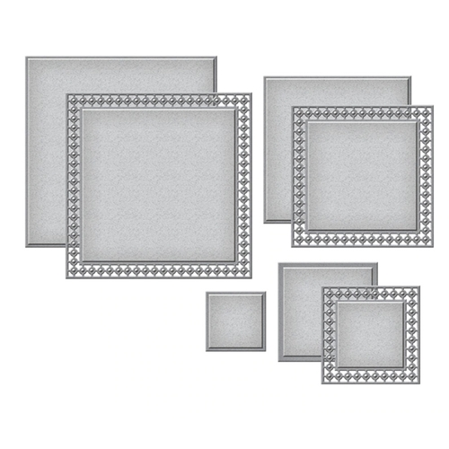 S4-1034 Spellbinders CANDLEWICK SQUARES Etched Dies Preview Image