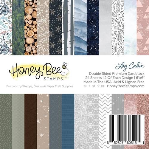Honey Bee LOG CABIN 6 x 6 Paper Pad hbpa-006 Preview Image