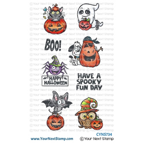 Your Next Stamp SPOOKY FUN Clear cyns734 Preview Image
