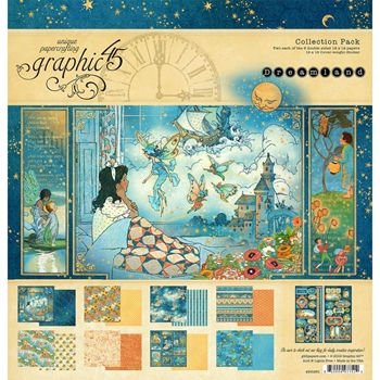 Graphic 45 DREAMLAND 12 x 12 Collection Pack 4501931