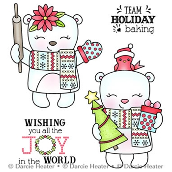 Darcie's JOY IN THE WORLD Clear Stamp Set pol451
