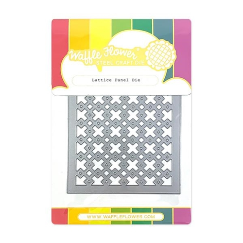 Waffle Flower LATTICE PANEL Die 310344 Preview Image