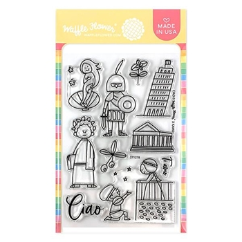 Waffle Flower CIAO Clear Stamps 271278