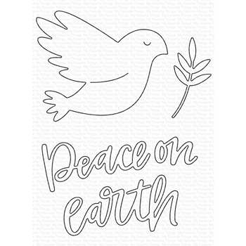 My Favorite Things PEACE ON EARTH Die-Namics MFT1616