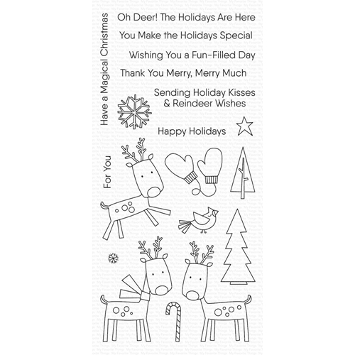 My Favorite Things REINDEER GAMES Clear Stamps CS428 Preview Image