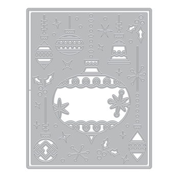 Hero Arts Fancy Die ORNAMENT PIECES Cover Plate DI703