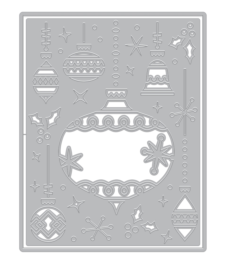 Hero Arts Fancy Die ORNAMENT PIECES Cover Plate DI703 zoom image