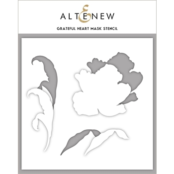 Altenew GRATEFUL HEART Masked Stencil ALT3540