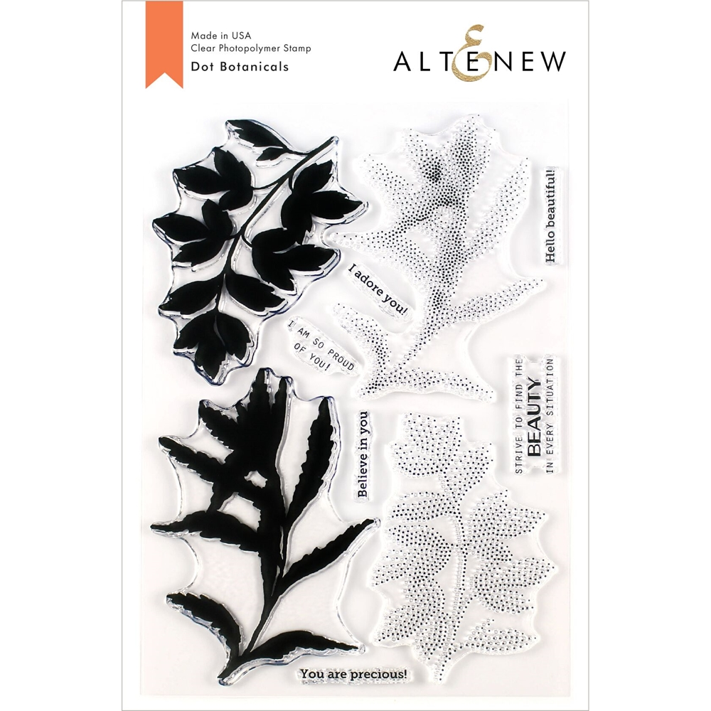 Altenew DOT BOTANICALS Clear Stamps ALT3535 zoom image