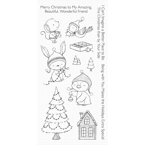 My Favorite Things MERRY WISHES Clear Stamps SY14 Preview Image