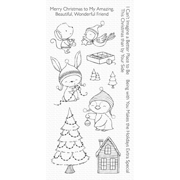 My Favorite Things MERRY WISHES Clear Stamps SY14