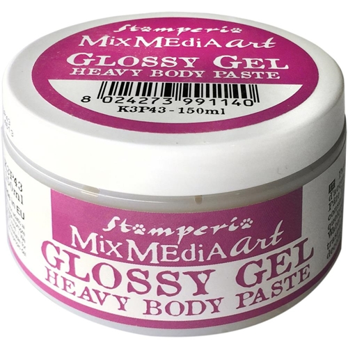 Stamperia GLOSSY GEL Heavy Body Paste k3p43 Preview Image