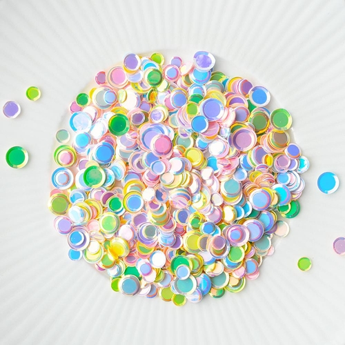 Little Things From Lucy's Cards Sprinkles PASTEL CIRCLES LB293 Preview Image