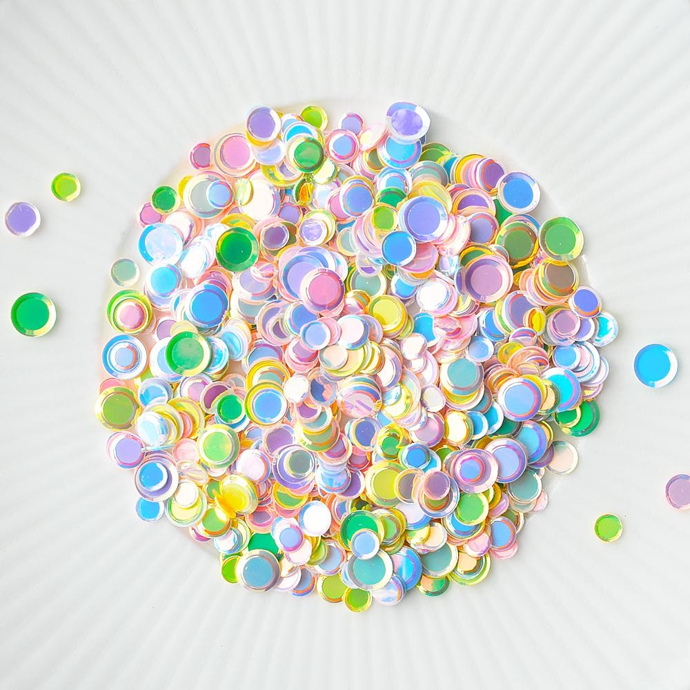 Little Things From Lucy's Cards Sprinkles PASTEL CIRCLES LB293 zoom image