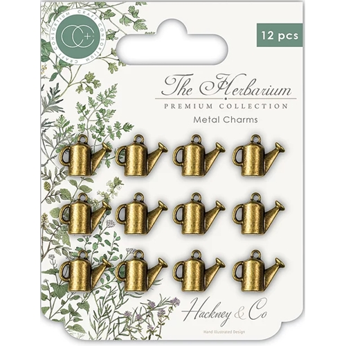 Craft Consortium THE HERBARIUM WATERING CAN Metal Charms CCMCHRM006 Preview Image