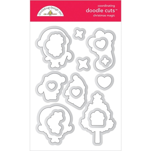 Doodlebug CHRISTMAS MAGIC Doodle Cuts 6478 Preview Image