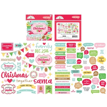 Doodlebug CHIT CHAT Christmas Magic Odds and Ends 6527