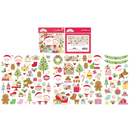 Doodlebug ODDS AND ENDS Christmas Magic Icons 6526 Preview Image