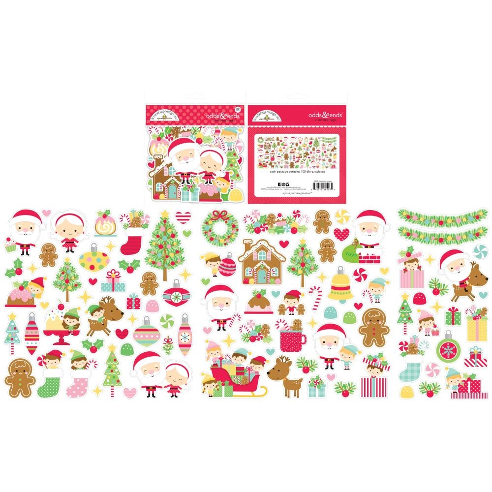 Doodlebug ODDS AND ENDS Christmas Magic Icons 6526 zoom image