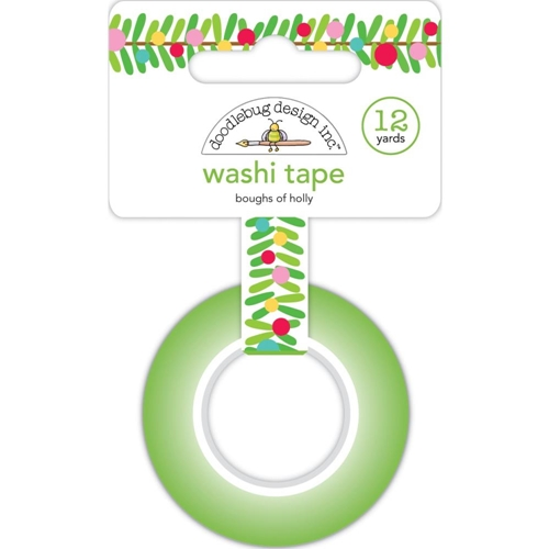 Doodlebug BOUGHS OF HOLLY Washi Tape 6433 Preview Image