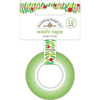 Doodlebug BOUGHS OF HOLLY Washi Tape 6433