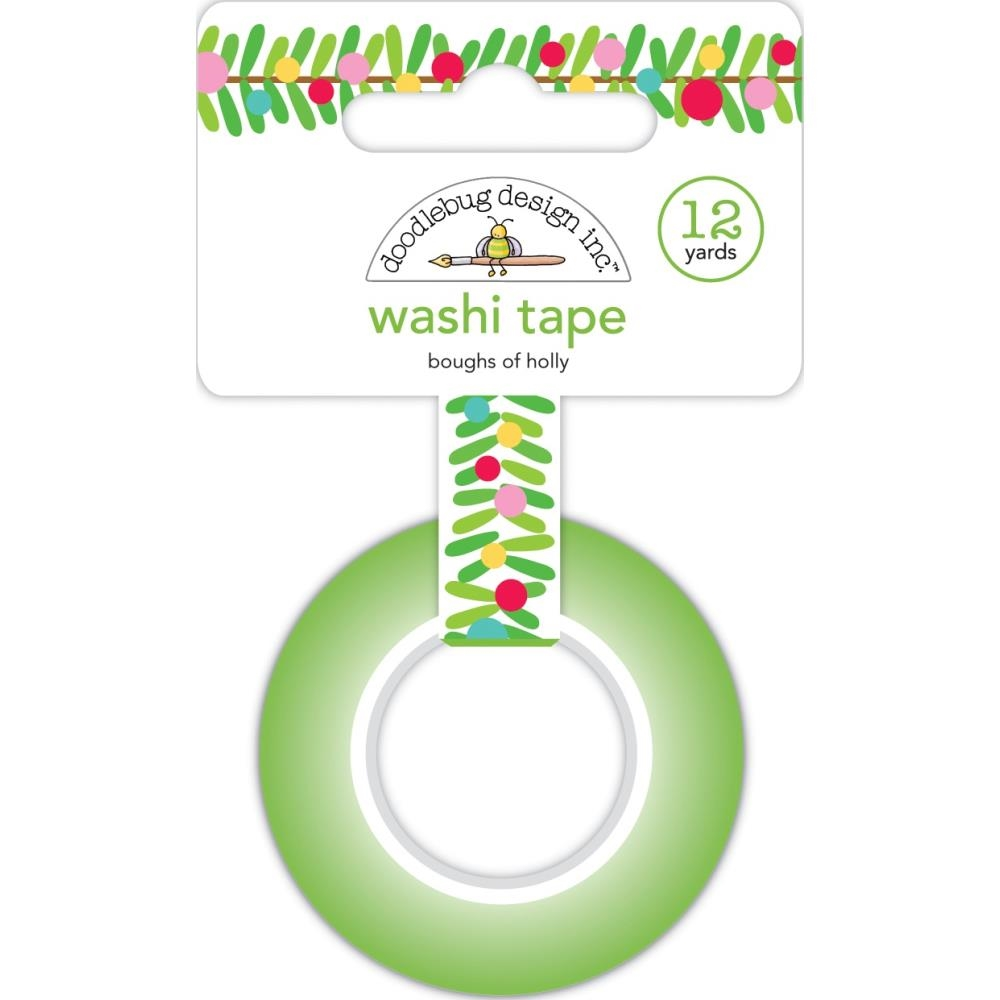 Doodlebug BOUGHS OF HOLLY Washi Tape 6433 zoom image