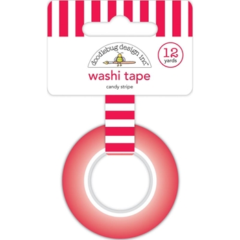 Doodlebug CANDY STRIPE Washi Tape 6434