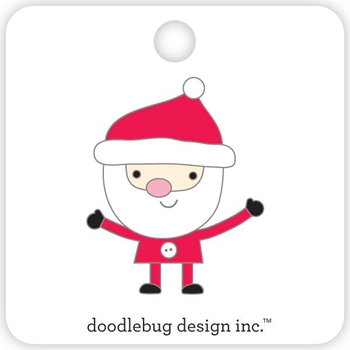 Doodlebug SANTA Collectible Enamel Pin 5415