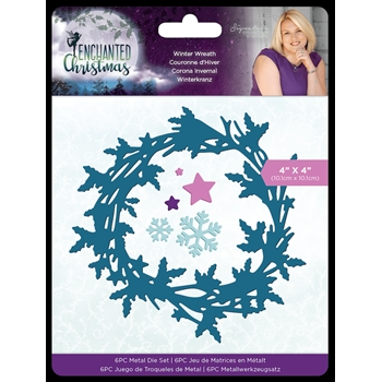 Crafter's Companion WINTER WREATH Enchanted Christmas Dies s-ec-md-winw*