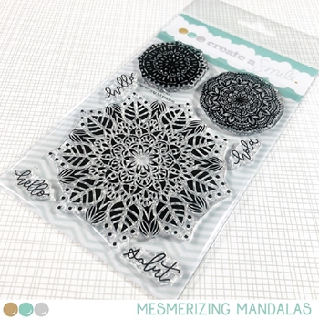 Create A Smile MESMERIZING MANDALAS Clear Stamps clcs122