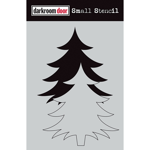 Darkroom Door CHRISTMAS TREE SET Small Stencil ddss032* Preview Image