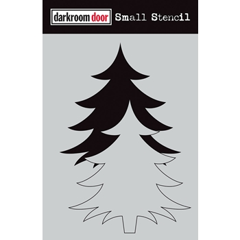 Darkroom Door CHRISTMAS TREE SET Small Stencil ddss032
