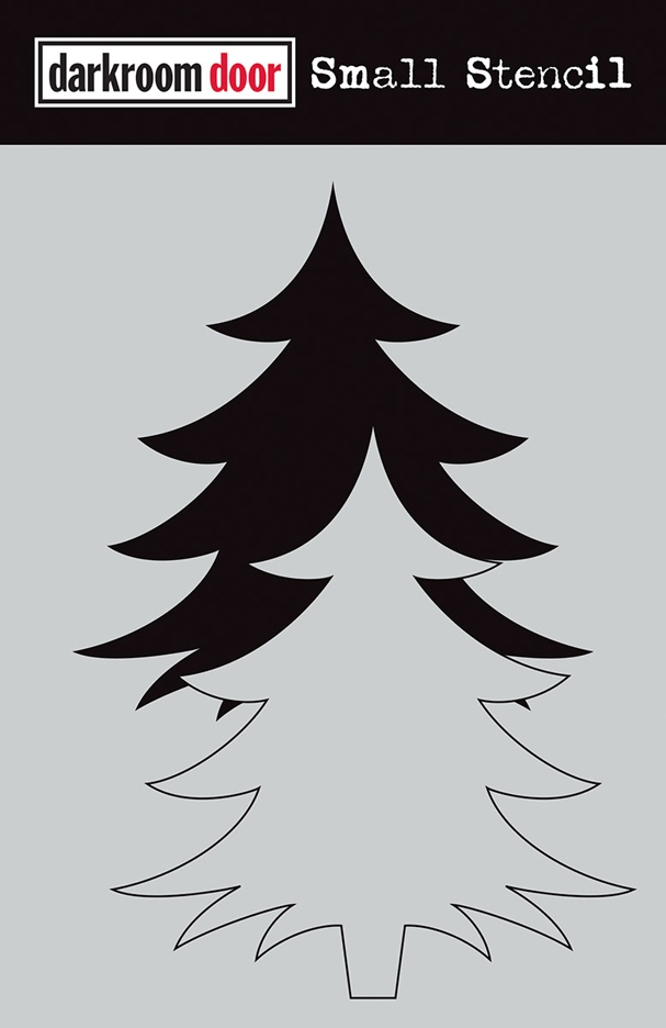 Darkroom Door CHRISTMAS TREE SET Small Stencil ddss032* zoom image