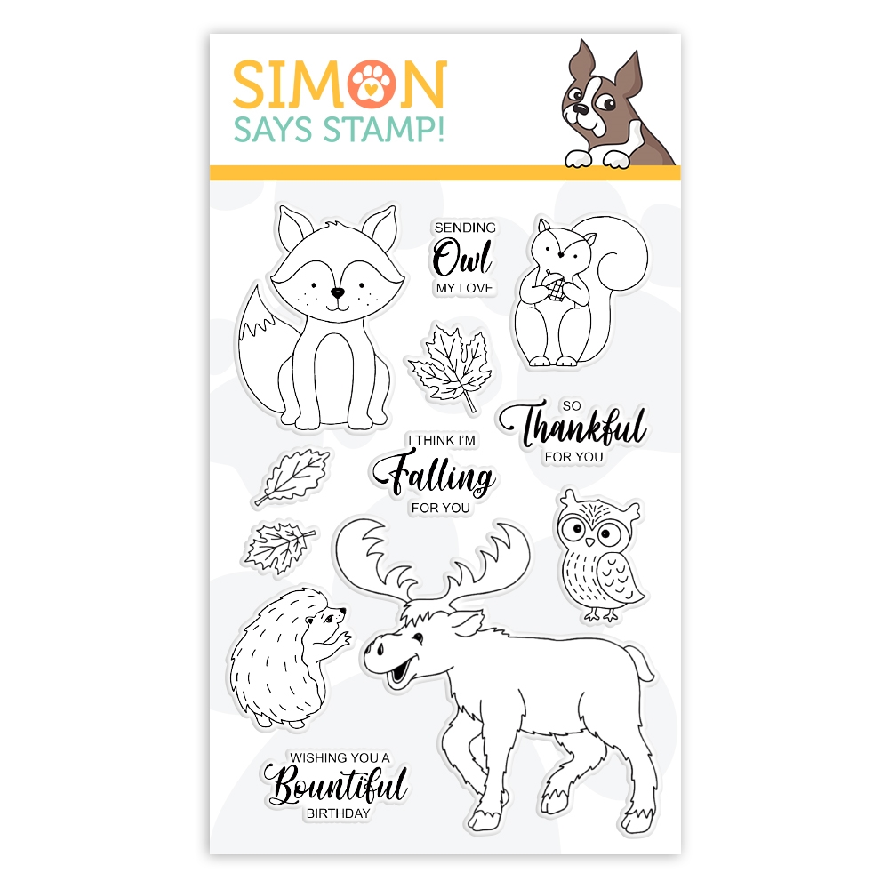 Simon Says Clear Stamps FALLING FOR YOU sss102074 Cheer And Joy zoom image