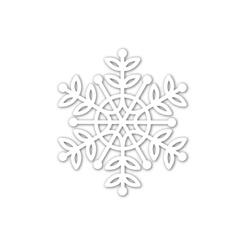 Simon Says Stamp Lea Snowflake Die