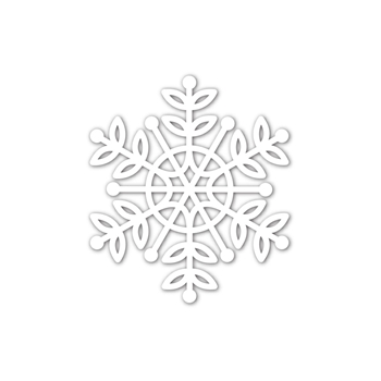 Simon Says Stamp LEA SNOWFLAKE Wafer Die sssd112039 Cheer And Joy