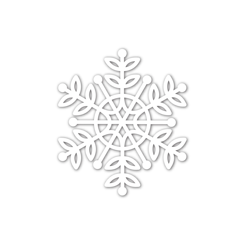 Simon Says Stamp LEA SNOWFLAKE Wafer Die sssd112039 Cheer And Joy zoom image