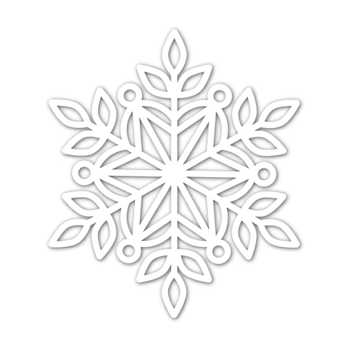 Simon Says Stamp MARIE SNOWFLAKE Wafer Die sssd112038 Cheer And Joy Preview Image