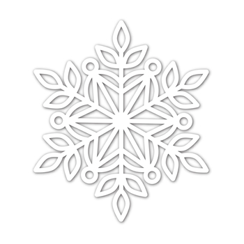 Simon Says Stamp MARIE SNOWFLAKE Wafer Die sssd112038 Cheer And Joy