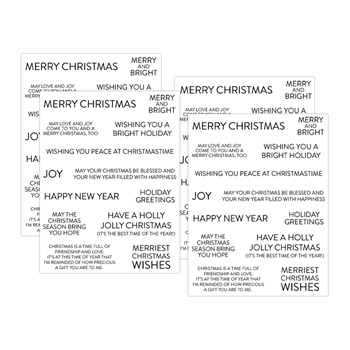 Simon Says Stamp SENTIMENT STRIPS EXTRA LARGE CHRISTMAS sssg131008 Cheer And Joy