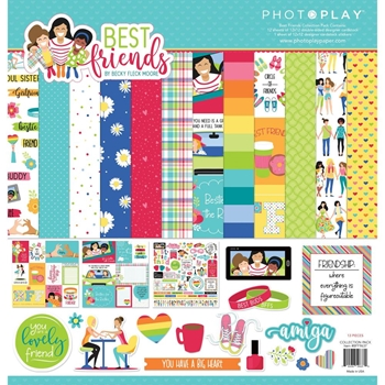 PhotoPlay BEST FRIENDS 12 x 12 Collection Pack bff9637